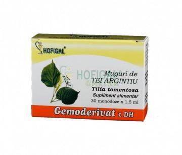 Gemoderivat Muguri De Tei Argintiu 30 monodoze* 1.5 ml